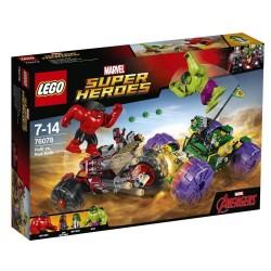 Lego Super Heroes Hulk kontra Czerwony Hulk 76078
