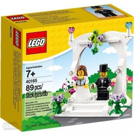 Upominkowy zestaw ślubny LEGO 40165