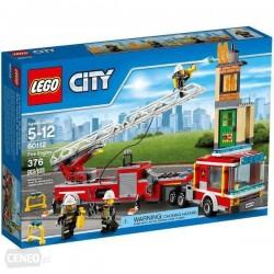Lego City Wóz strażacki 60112