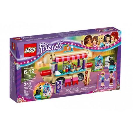 Lego Friends Furgonetka z hot-dogami w parku rozrywki 41129