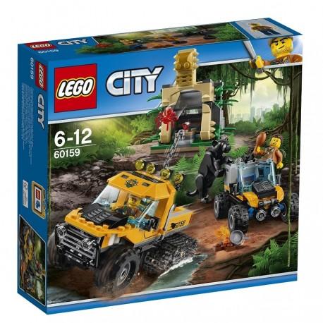 Lego City Misja półgąsienicowej terenówki 60159