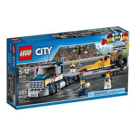 Lego  City Transporter dragsterów 60151