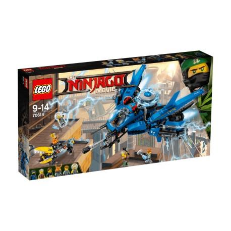 Lego Ninjago Odrzutowiec Błyskawica 70614