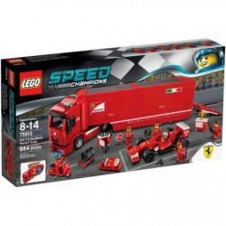Lego Speed Champions Ciężarówka F14 T & Scuderia Ferrari 75913