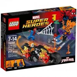 Lego Super Heroes Spiderman: Atak Upiornych Jeźdźców 76058