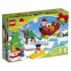 Lego Duplo Zimowe ferie Świętego Mikołaja 10837