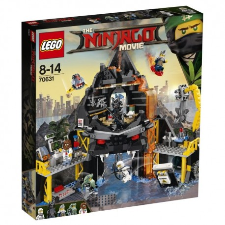 Lego Ninjago Wulkaniczna kryjówka Garmadona 70631