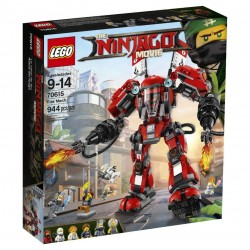 Lego Ninjago Ognisty robot 70615