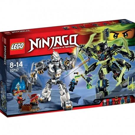 Lego Ninjago Starcie tytanów Mech 70737