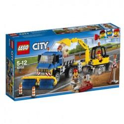 Lego City Zamiatacz ulic i koparka 60152