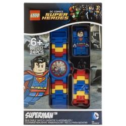 Zegarek Lego Super Heroes Superman