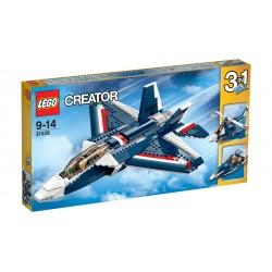 Lego Creator Błękitny Odrzutowiec