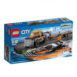 Lego City Terenówka z Motorówką 60085