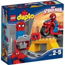 Lego Duplo Spiderman, Warsztat 10607