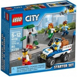 Lego City Policja - zestaw startowy 60136