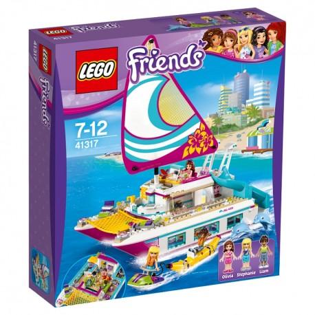 Lego FriendsvKolejka górska w parku rozrywki