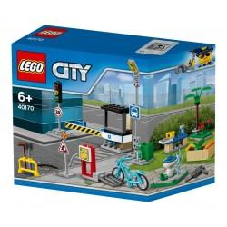 Lego Zestaw akcesoriów LEGO® City Zbuduj My City 40170