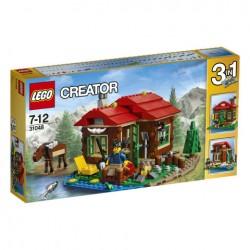 Lego Creator Chatka Nad Jeziorem 31048