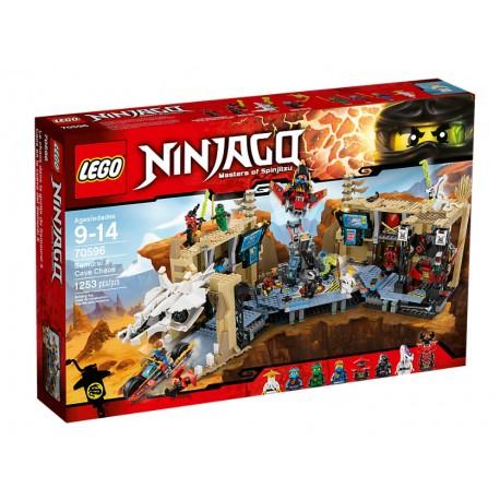 Lego Ninjago Akcja w jaskini Samuraja X 70596