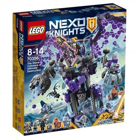 Lego Nexo Knights Niszczycielski Kamienny Kolos 70356