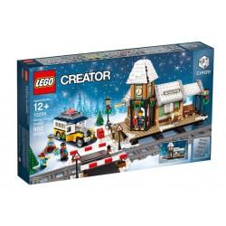 Lego Stacja w zimowej wiosce 10259