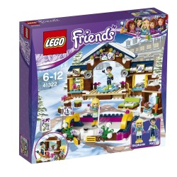 Lego Friends Lodowisko w zimowym kurorcie 41322