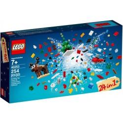 Klocki LEGO Świąteczne budowanie z LEGO 40222