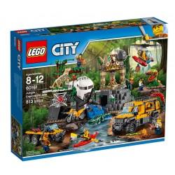 Lego City Baza w dżungli 60161