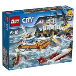 Lego City Kwatera straży przybrzeżnej 60167