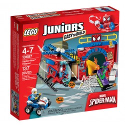 Lego Juniors Kryjówka Spider-Mana 10687 Uszkodzone