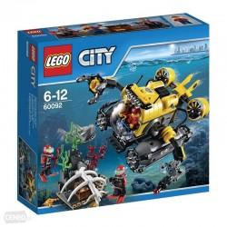 Lego City Łódź głębinowa 60092
