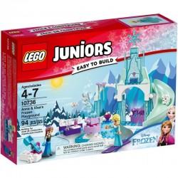 Lego Juniors Plac zabaw Anny i Elsy z Krainy Lodu 10736