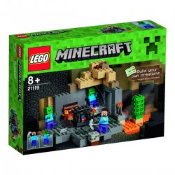 Lego Minecraft Loch 21119