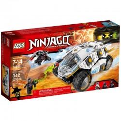 Lego Ninjago Samochód Tytanowego Ninja 70588