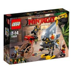 Lego Ninjago Atak Piranii 70629
