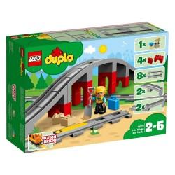 Lego Dulo Tory kolejowe i wiadukt 10872