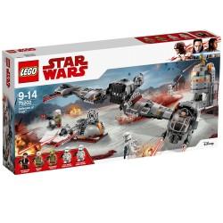 Lego Star Wars Obrona Crait 75202