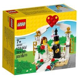 Upominkowy zestaw ślubny LEGO 40197