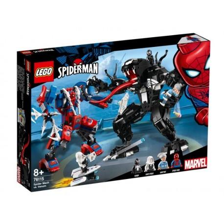 Lego LEGO SpiderMan Pajęczy Mech vs Venom 76115