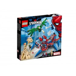 Lego SpiderMan Mechaniczny pająk SpiderMana 76114