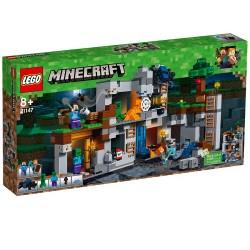 Lego Minecraft Przygody na skale macierzystej 21147