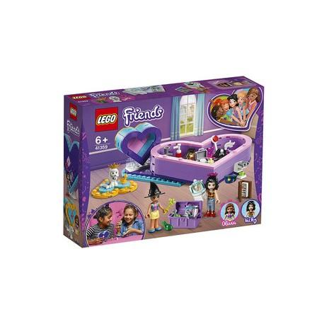 Lego Friends Pudełko w kształcie serca — zestaw przyjaźni 41359
