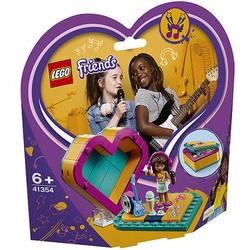 Lego Friends Pudełko w kształcie serca Andrei 41354