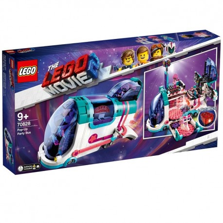 Lego Movie2 Autobus imprezowy 70828
