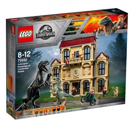 Lego Jurassic World™ Atak indoraptora 75930