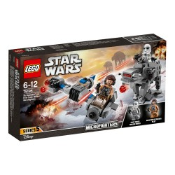 Lego Star Wars Ski Speeder kontra Maszyna krocząca Najwyższego Porządku 75195