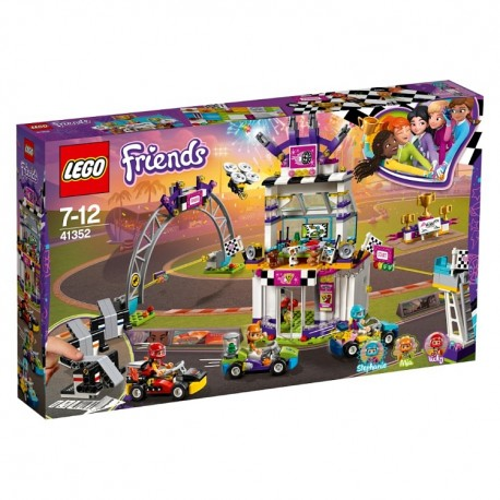 Lego Friends Friends Dzień wielkiego wyścigu 41352