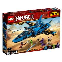 Lego Ninjago Burzowy myśliwiec Jaya 70668