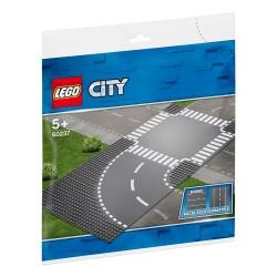 Płytla Lego City Zakręt i skrzyżowanie 60237