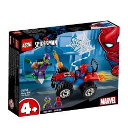 Lego Marvel Pościg samochodowy Spider-Mana 76133